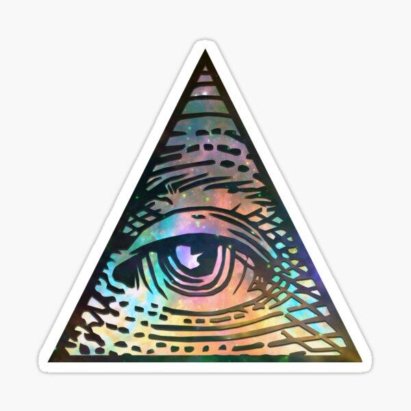 Cosmic Eye of Providence Sticker