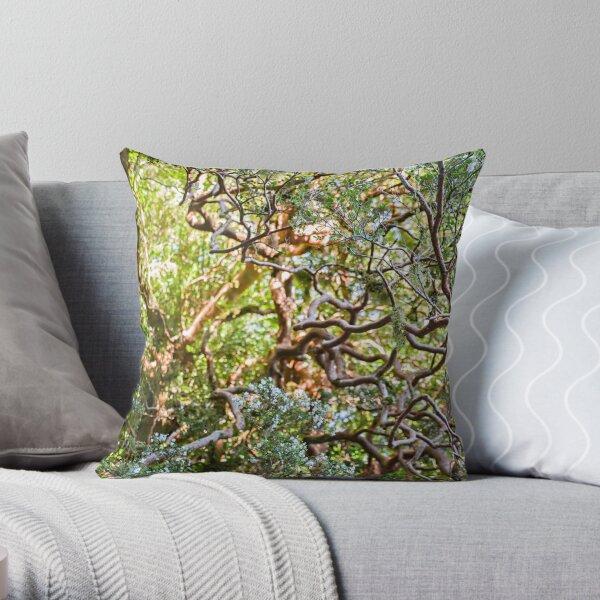 Blooming Arrayan Throw Pillow