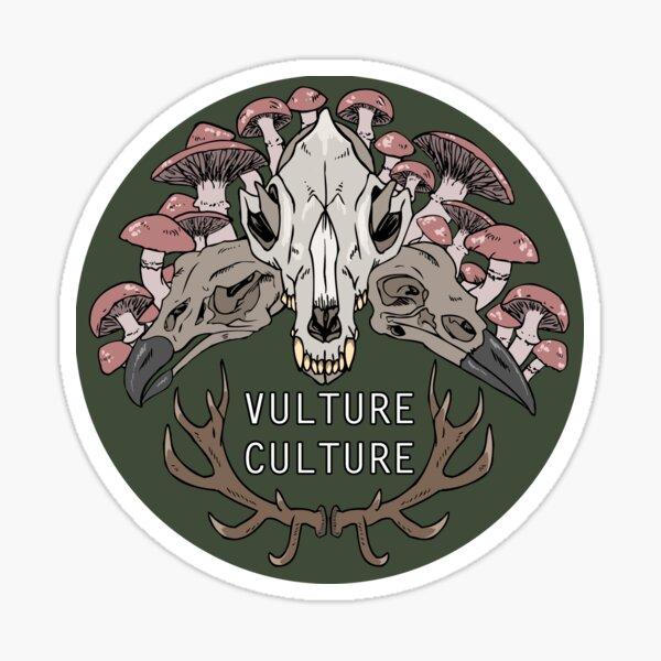 Vulture Culture-green version Sticker