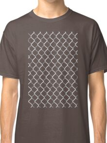 Chain Link on Black Classic T-Shirt