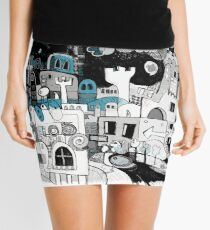 Thought Threshold  Mini Skirt