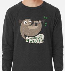 Koffeinhaltige Faultiere Leichtes Sweatshirt