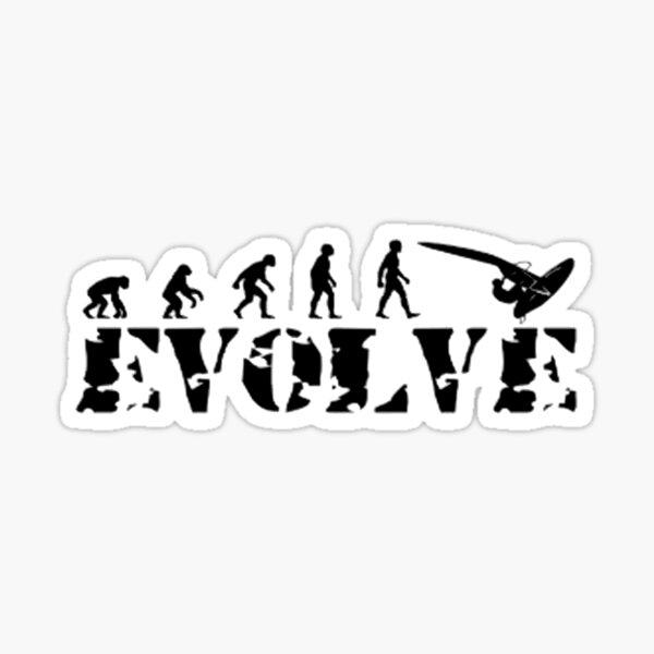 Evolve Windsurf Sticker