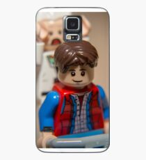 Marty and Doc go for a ride Case/Skin for Samsung Galaxy