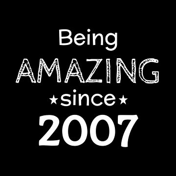 Being Amazing Since 2007 by DogBoo