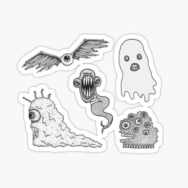 Lil Monster Stickers Sticker