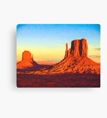 Monument Valley Canvas Print