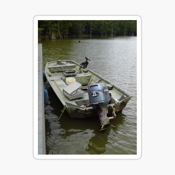 Bass Boat Sticker