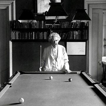 Mark Twain Billards by historicalstuff
