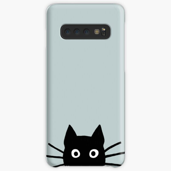 Black Cat Face Samsung Galaxy Snap Case