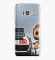 Outatime with Marty McFly Samsung Galaxy Case/Skin