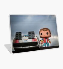 Outatime with Marty McFly Laptop Skin
