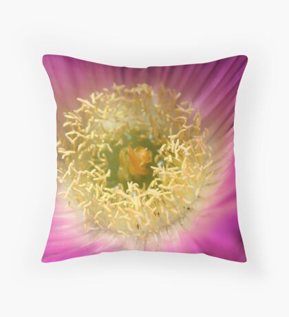 Life is a flower Throw Pillow