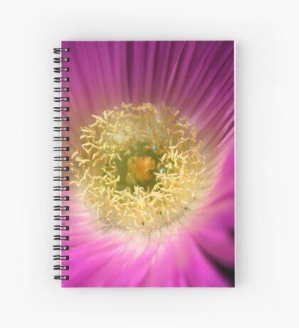 Life is a flower Spiral Notebook