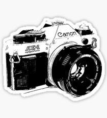 Vintage Canon Camera Sticker
