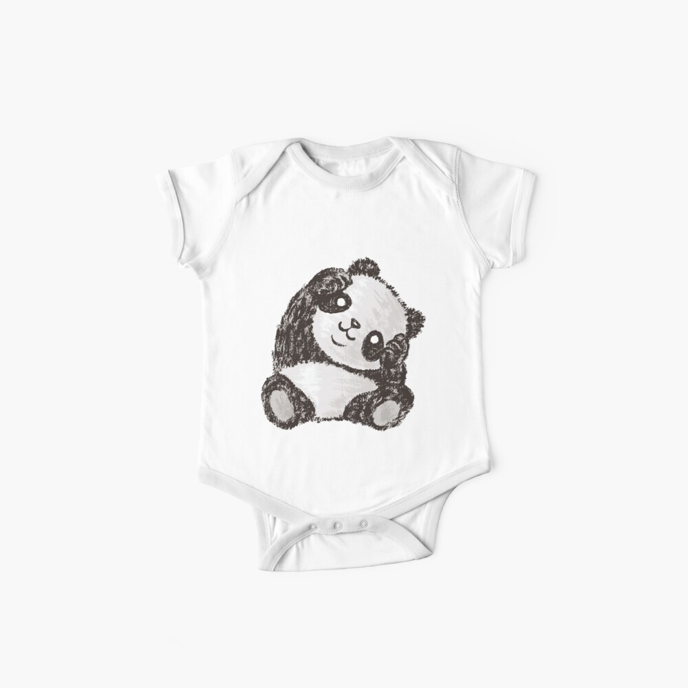Cute Panda Baby One-Piece