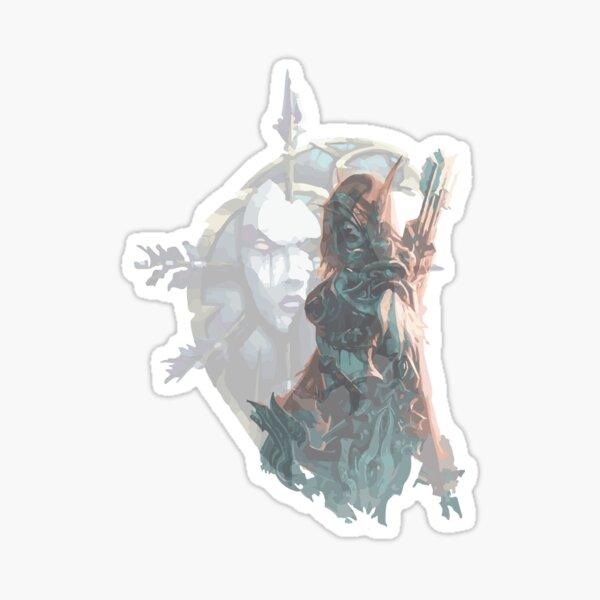 Sylvanas - Queen of the Undeads Sticker