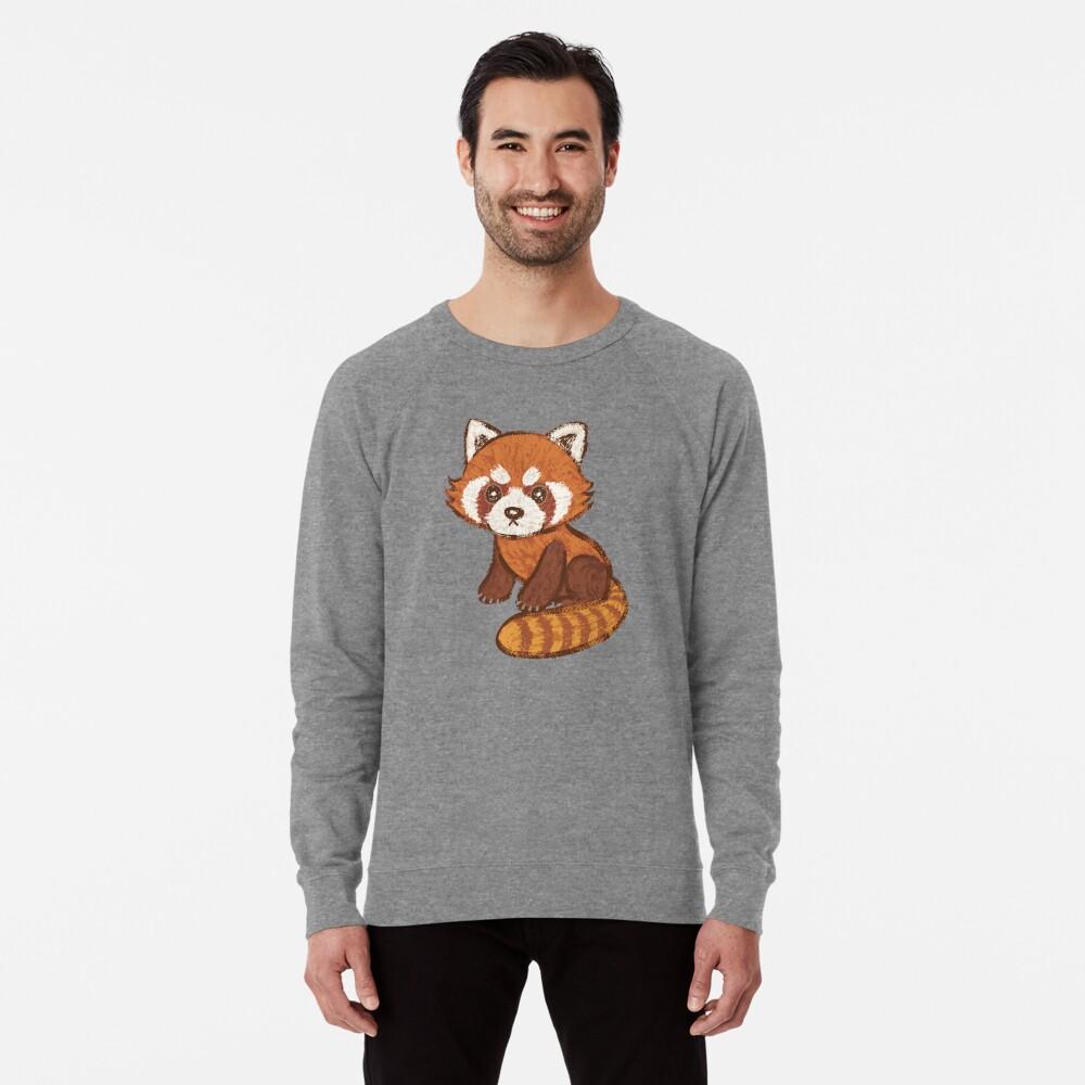Red Panda Lightweight Sweatshirt