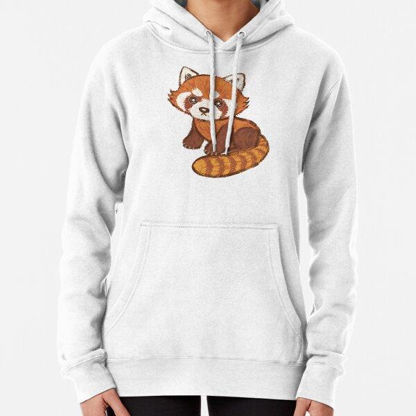 Red Panda Pullover Hoodie