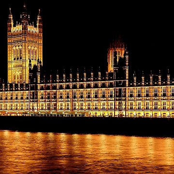 Nighttime at Westminster by solnoirstudios