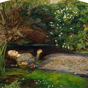 """Millais """"Ophelia"""" von laurens-doodles"""