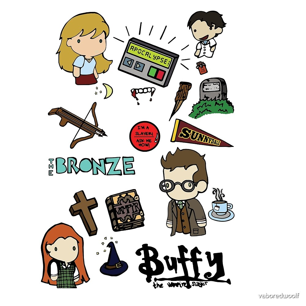 buffy etc. by vaboredwoolf