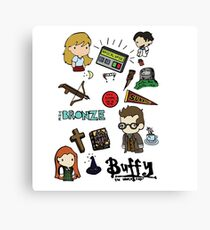 buffy etc. Canvas Print