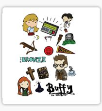 buffy etc. Sticker