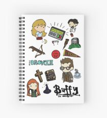 buffy etc. Spiral Notebook