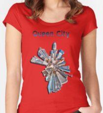 queen city Women's Fitted Scoop T-Shirt