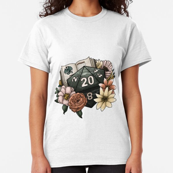 Dungeon Master D20 - Tabletop Gaming Dice Classic T-Shirt