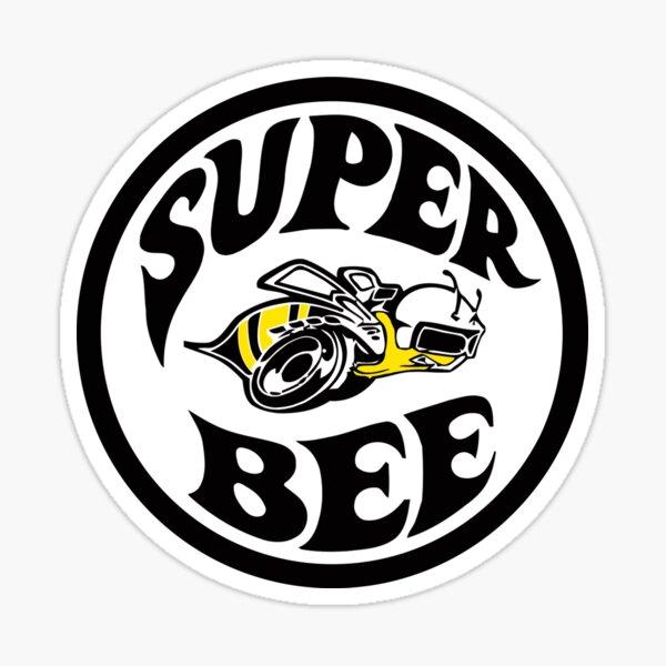 Diseño Super Bee Pegatina