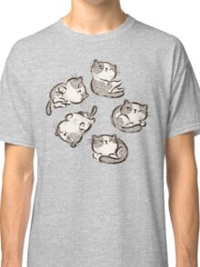 Impudent cats relax Classic T-Shirt