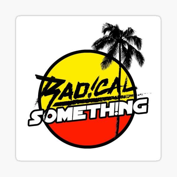 Radical Something Logo Tee Sticker