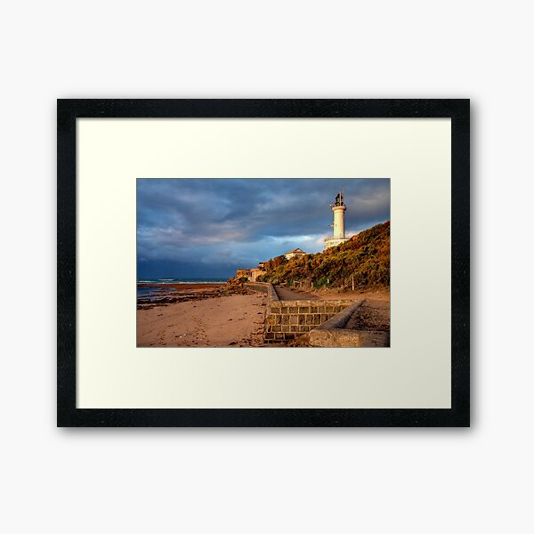 Early Morning at Point Lonsdale, Victoria Framed Art Print