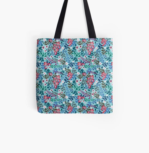 meet me in florence Allover-Print Tote Bag
