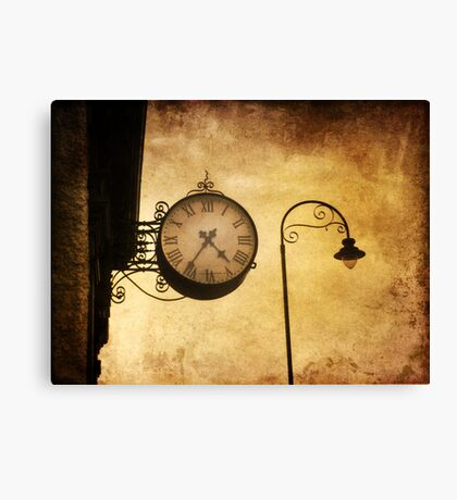 Yesterday Today  Canvas Print