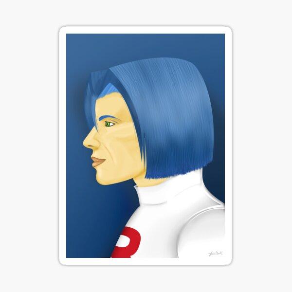Painting Series - James Sticker