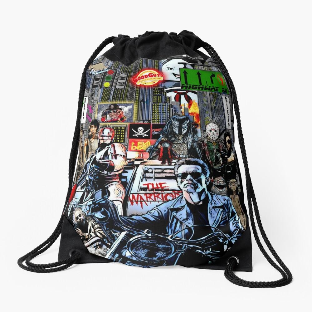 the 80s Drawstring Bag