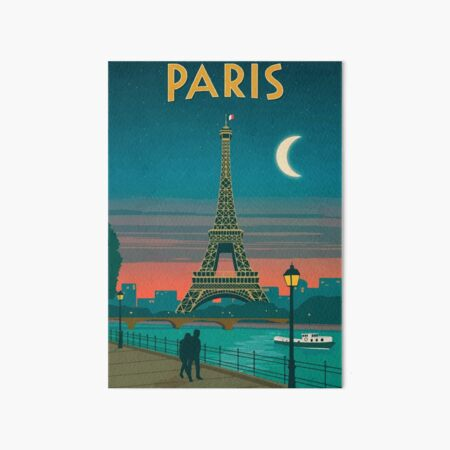Paris Art Board Print