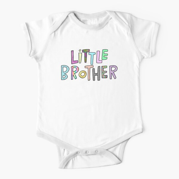 Little Brother Short Sleeve Baby One-Piece