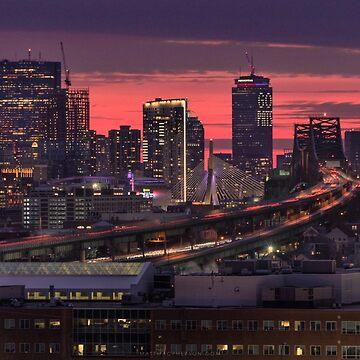 Boston before the Super Bowl by mattmacpherson