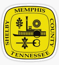 Pegatina Sello de Memphis