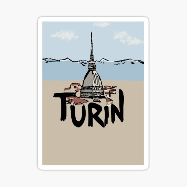 Turin Sticker