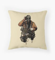 The Listener Throw Pillow