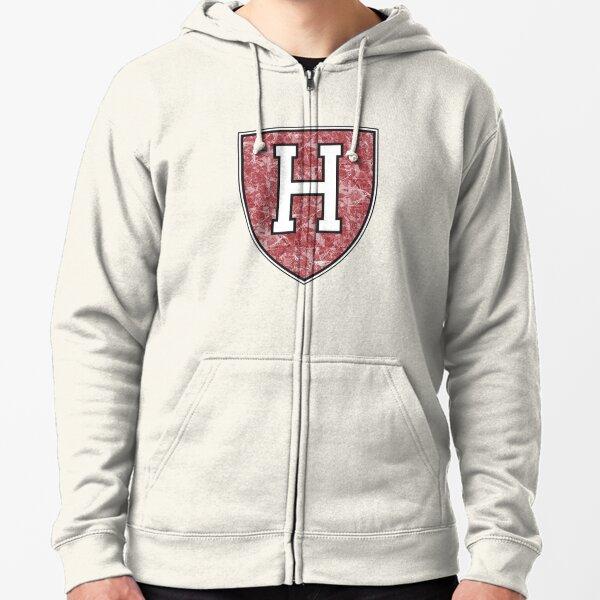 Harvard  Zipped Hoodie