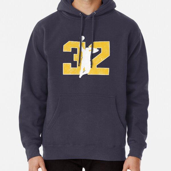 Purple Utah Stockton Malone 98 Hooded Sweatshirt