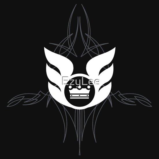 TShirtGifter presents: LI - Logo Shirt Pinstripe