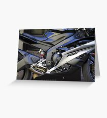 Yamaha R6 Greeting Card