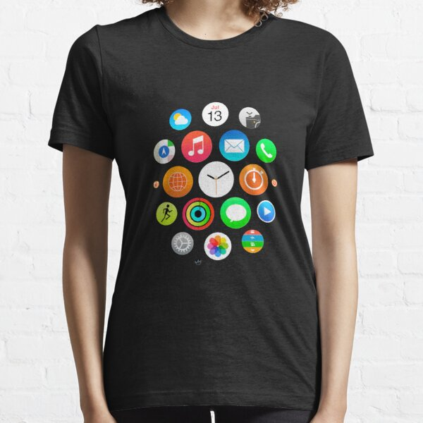 Apple Watch Face - Applications T-shirt essentiel